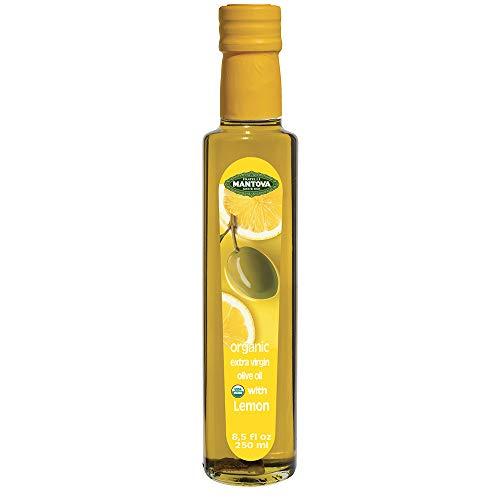 Mantova Oil Olive Extra Virgin Lemon Organic, 8.5 fl oz