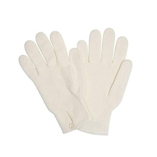 [ジョンストンズ] JOHNSTONS 手袋 グローブ Cashmere Knitted Button Loop Glove カシミヤニットボタンループ ECRU [並行輸入品]
