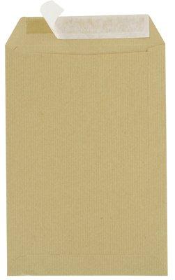 Majuscule-enveloppes Kraft 90g 16x23 cm Bandes Detachables Ab - Paquet De 50 format mm 162 x 229