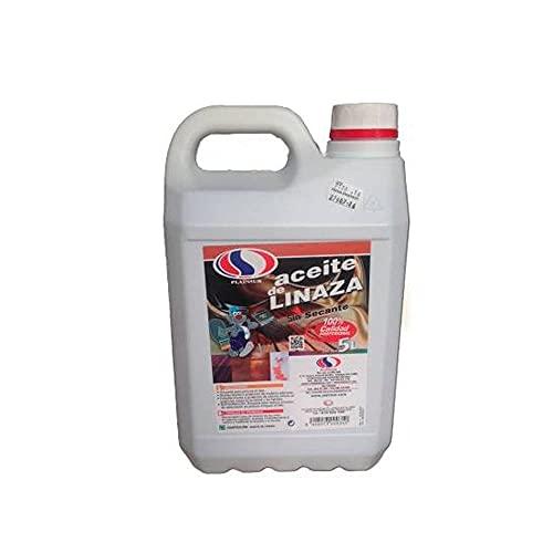 Aceite de linaza para madera Plainsur sin secante 5 litros