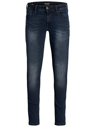 JACK & JONES Male Plus Size Slim Fit Jeans Glenn Original AGI 004 4232Blue Denim