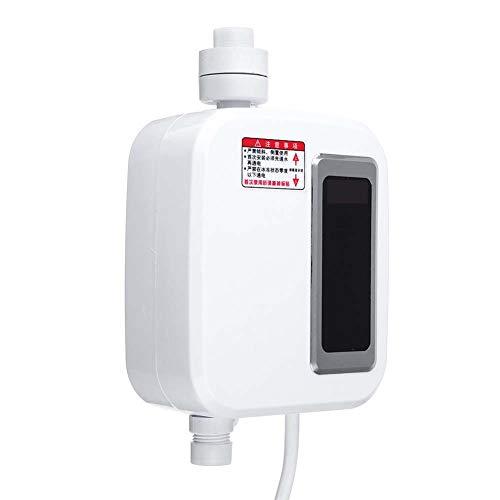 BTSSA Elektrischer Durchlauferhitzer Mini Durchlauferhitzer Ohne Tank 220 V Für Die Sofortige Warmwasserversorgung Badezimmerzubehör Mit Selbstmodulierender Temperaturtechnologie