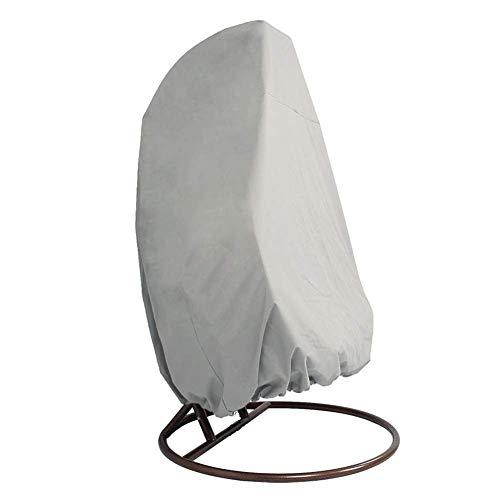 SUNYUE Couverture accrochante de Chaise de Patio extérieur, la Chaise résistante d'oscillation d'oeuf Couvre la Housse de Protection, Protecteur extérieur imperméable de Jardin