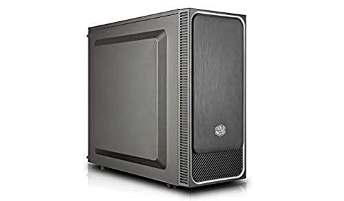 Cooler Master MasterBox E500L Casa per PC 'ATX, microATX, Mini-ITX, Panello Laterale Solido', Nero, Argento