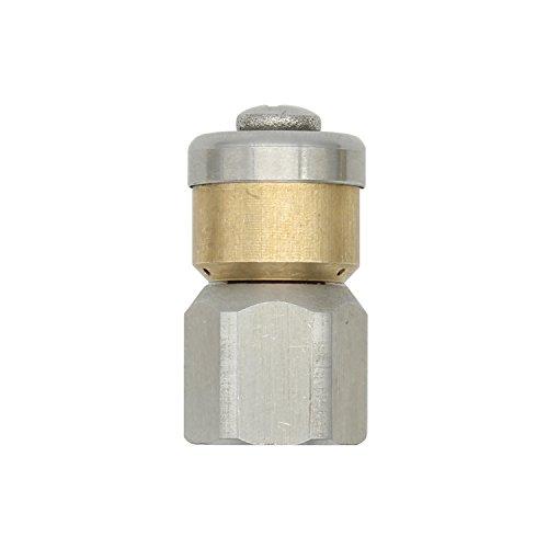 Rohrreinigungsdüse rotierende 1/8 1/4 3/8 zoll 250 bar - rohrreinigungsdüse rotierend kanalreiniger düse für Hochdruckreiniger Rohrreiniger Rohrreinigung (1/4 zoll)