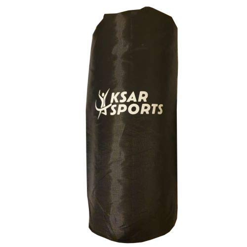 KSAR Sports Massage Foam Roller - Black - Pilates Muscle Physio Leg Back Yoga Gym with FREE CARRY BAG
