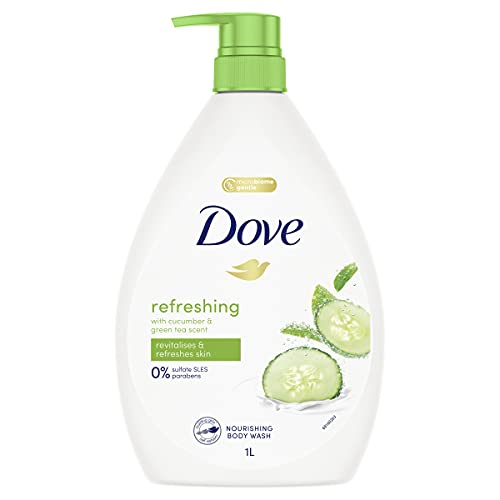 Dove Body Wash Fresh Touch, 1L (Packaging May Vary)