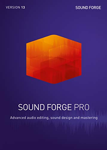 SOUND FORGE Pro 13 1 Perpetual License PC Disc Disc