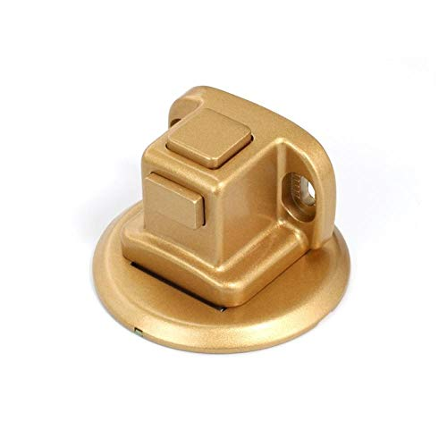 Door Suction Without Punching Invisible Strong Magnetic Anti-Collision Mute Bathroom Bedroom Door Touch Door Stop-Pearl Gold