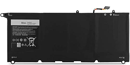 ASKC 56WH 90V7W Laptop Battery for Dell XPS 13 9343 9350 XPS13-9350 13-9350-D1508 13-9350-D1608 13-9350-D1708 13D-9343-1808T 13D-9343-370 5K9CP DIN02 Notebook