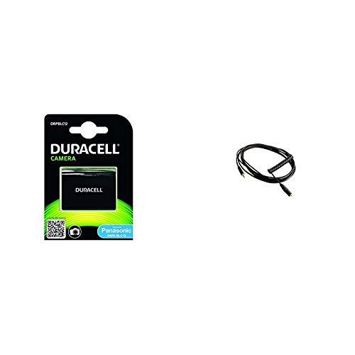 Duracell Foto aku DRPBLC12 (DMW-BLC12) + Rode Microphones VC1Cable alargador Mini Jack para micrófono de videocámara (3 m), Color Negro