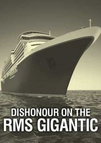 rouge Herbague Games Déshonneur on The RMS Gigantesque - sans Meurtre Mystery Jeu pour 12 Joueurs