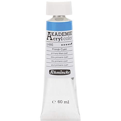 Akademie-Acryl 60ml, Primär Cyan [Spielzeug]