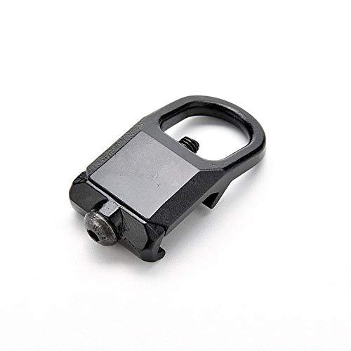 XBF-Giratorio, Acero Negro Botón de Servicio Pesado QD Lanzamiento rápido Pistola Honda for AR15 223 Adaptador de Montaje Giratorio for Caza Acceossries Negro (Color : 20mm GBB)