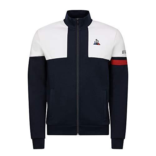 Le Coq Sportif Sweat zippé Tricolore
