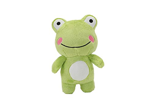 """Super Soft Frog Stuffed Animal Plush Toy, Cute Frog Plush Doll, Standing Frog Plushie Toy Gift for Kids Children Baby Girls Boys Toddlers, Creative Plush Frog Decoration, 10"""""""