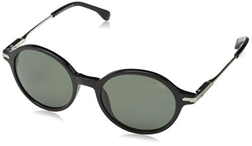Lozza Damen Sl4077M Sonnenbrille, Grau (SHINY BLACK), Einheitsgröße