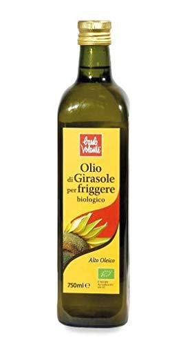 OLIO DI GIRASOLE PER FRIGGERE 750 ML BIOLOGICO