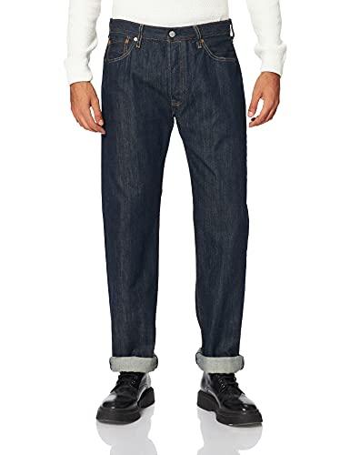 Levi's 501 Levis Original Fit, Jeans Straight Uomo, Blu (80700 Levi's Marlon 0162), W33/L34