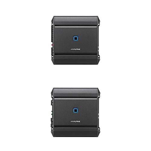 Alpine S-A32F S-Series 4-Channel Digital Amplifier Bundled w/Alpine S-A60M S-Series Class D Mono Amplifier
