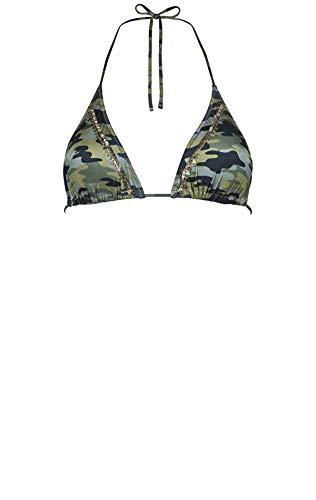 Watercult, Triangle Bikini Oberteil, Camo Luxe 7071 des. 051 (36, Camouflage (309))