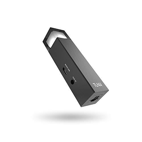 TUNAI Wand aptX - Transmisor Bluetooth de Baja latencia de Largo Alcance - Adaptador de Audio inalámbrico para tu TV, Home Stereo, PC, Consolas de Juegos