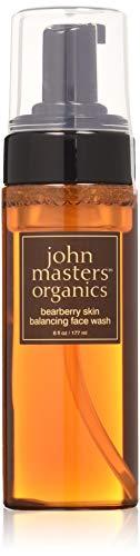 john masters organics bearberry skin balancing face wash, Reinigungsschaum, 1er Pack (1 x 177 ml)
