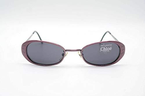 Chloé 18S 358 49[]20 lila ovaal zonnebril zonnebril nieuw