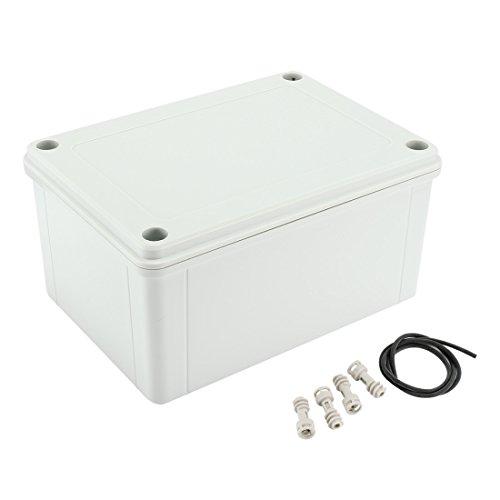 Aexit - Caja de conexión para empotrar (plástico ABS, antipolvo, IP65, caja de conexión, caja eléctrica)