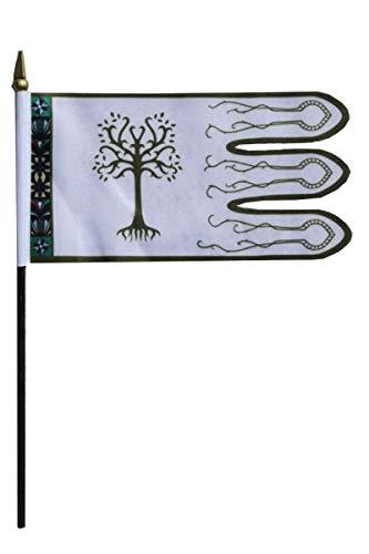 Flaggen Pehl Herr der Ringe Boromir Tischflagge 10 x 15 cm Fahne Sammler Fan Artikel.