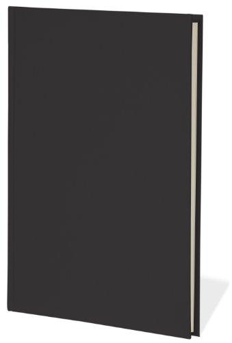 Semikolon (350924) Notizbuch Classic A4 liniert black (schwarz) - Buchleinenbezug - 160 Seiten mit cremeweißem 100g/m²- Papier - Lesezeichen