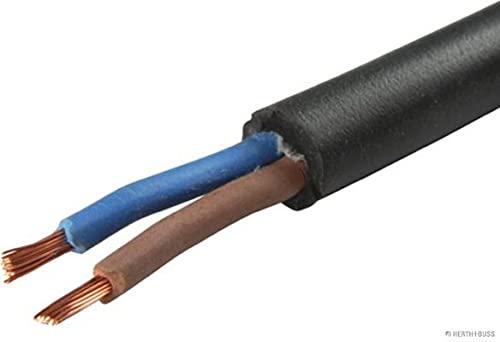 Câble ho5rr de f 2 x 1.5 mm² Noir