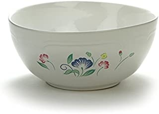 Floral Expressions by Hearthside, Stoneware Mixing Bowl
