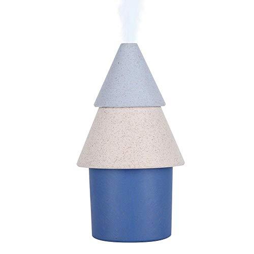 Mini pulvérisateur portable avec forme d'arbre pour soulager la sécheresse des soins de la peau et pour la table de chevet de bureau et de chambre à coucher, 2 modes de brume, arrêt automatique