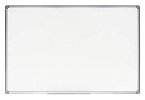 Bi-Office Earth - Magnetisches Whiteboard, Trocken Abwischbar, Mit Aluminiumrahmen, Umweltfreundlich, Magnettafel, Memoboard, Lackierte Stahloberfläche, 90 x 60 cm