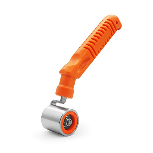 CARTINTS Wallpaper Roller Seam Roller Steel Hand Roller With Anti-Slip Handle, Ideal For Car Audio Sound Deadening Application, Wallpaper, Vinyl, and Home Decoration