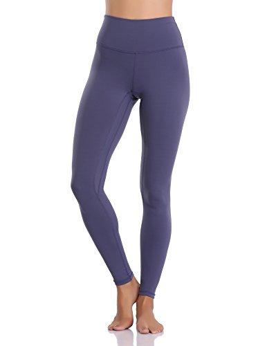 Colorfulkoala Women's Buttery Soft High Waisted Yoga Pants Full-Length Leggings (S, Midnight Navy)