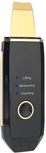 Ultrasony recargable Facial Skin Scrubber 4 Modos Toque Interruptor Face Skin Spátula Para Limpieza De Pieles De Pie Face Levantamiento De Cara Eliminación