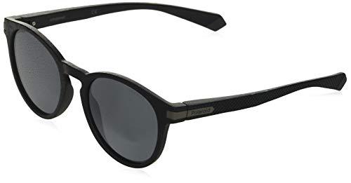 Polaroid Unisex-Erwachsene PLD 2087/S Sonnenbrille, MTT SCHWARZ, 50