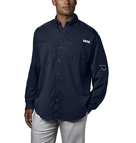 Columbia Tamiami II Chemise à Manches Longues pour Homme XL Bleu Marine
