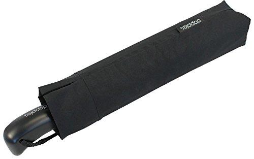 Unbekannt Doppler Partner Regenschirm - Taschenschirm Auf-Zu Automatik XM schwarz
