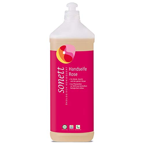 Sonett Bio Handseife Rose (1 x 1000 ml)