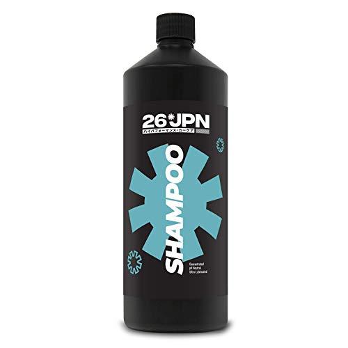 26JPN Shampoo - pH Neutraal Shampoo, Zeer geconcentreerd, Ultra gesmeerd, Wax, Sealant en Coating Safe, en Biologisch afbreekbaar 1000ml