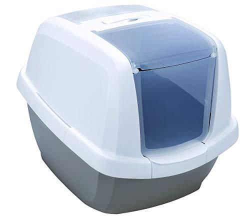 Imac Toilette Lettiera Maddy Colore Tortora 62x49,5x47,5H Ideale per Gatti di Grossa Taglia
