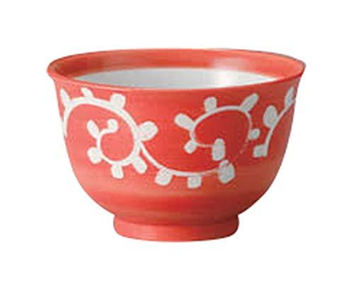 赤タコ唐草4.0多用碗 [ 12.5 x 8cm ] 【 多用碗】 【 料亭 旅館 和食器 飲食店 業務用 】