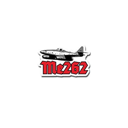 Me262 Luftwaffe TYP2 Aufkleber Sticker Strahltriebwerke Maschine 11x7cm#A4174