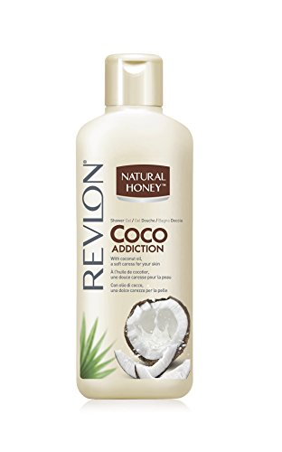 Revlon Natural Honey Shower Gel/Duschgel Coconut mit Kokosöl - 650 ml