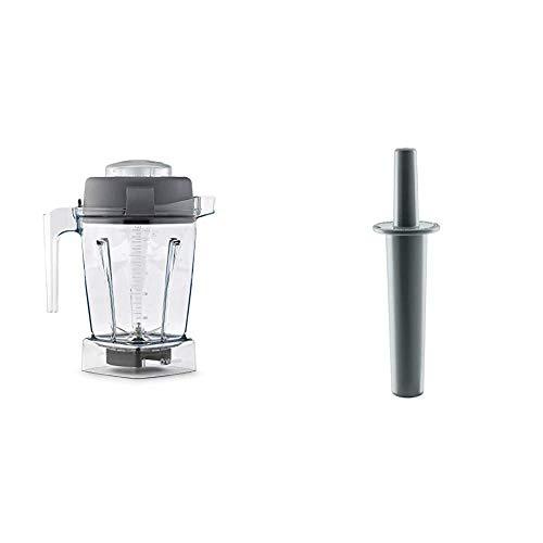 Vitamix Container, 48 oz., Clear - 56085 & Mini-Tamper