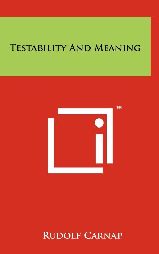 Testability And Meaning