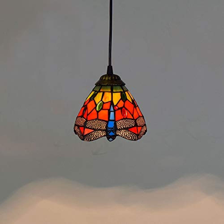 Suspension Luminaire Salon Chambre Lustre Rétro Verre Couleuré Restaurant Idyllique Bar Comptoir Couloir Créatif Lustre Ak Moderne Lustre Design